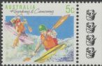 AUSTRALIA Reprint SG1172a 5c Kayaking and Canoeing perf 14x14½ - 4 Koalas